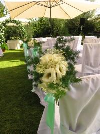 Dettaglio lisathus bianchi, verde e nebbiolina
