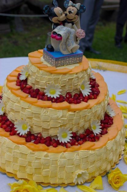 Dettaglio torta nuziale
