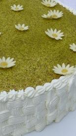 Crema di burro e panna, la consistenza giusta per la decorazione a cestino