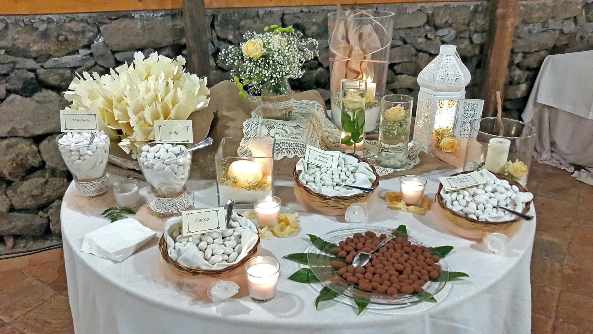 Matrimonio Tema Juta : Awesome tavolo confettata matrimonio sp pineglen