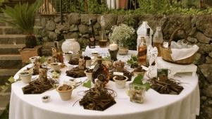 Tavolo sigari e degustazione di cioccolato